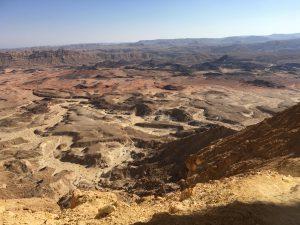Her ses udsigten fra Mount Ardon. Vi er ikke engang kommet op på toppen endnu på dette billede..