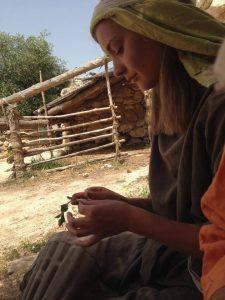 Sådan så vi ud fra 9-17. Urteplukkende Nazareth-kvinder